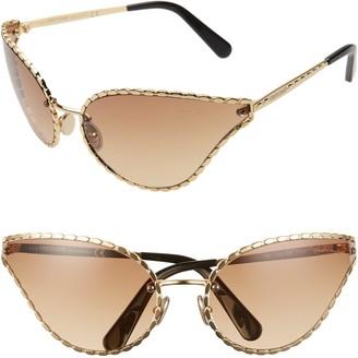 Roberto Cavalli 71mm Oversize Cat Eye Sunglasses