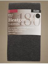 M&S Collection 180 Denier HeatgenTM Brushed Thermal Opaque Tights