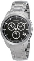 Tissot Titanium Black Chronograph Dial Men's Watch