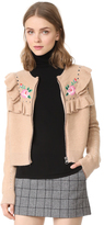 Wildfox Couture Bed of Roses Elliot Jacket Cardigan