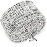 Kenneth Cole New York Silver-Tone Seed Bead Coil Bracelet