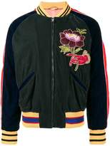 Gucci Green Embroidered bomber jacket