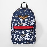 DC Comics Wonder Woman Stars Kids' Backpack - Navy