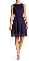 Donna Ricco Sleeveless Shift Dress