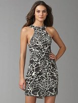 Versace VJC Halter Draped Dress