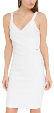 Armani Exchange Sleeveless Corduroy Dress