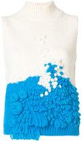 DELPOZO sleeveless jumper - women - Polyamide/Alpaca/Merino - M