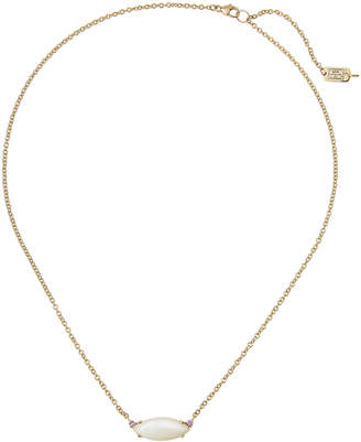 Ippolita 18K Prisma Single Medium Marquise Necklace in Mother-of-Pearl