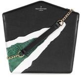 Pauls Boutique Beatrix Shoulder Bag - Black / Green