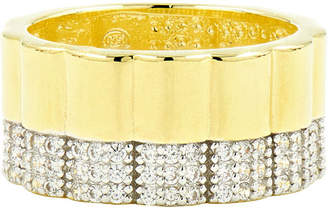 Freida Rothman Radiance Wide Band Ring, Size 6-8, Gold