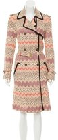 Missoni Chevron Trench Coat