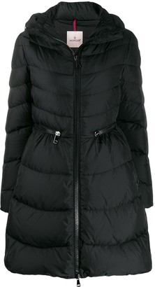 Moncler Zipped Waisted Puffer Jacket