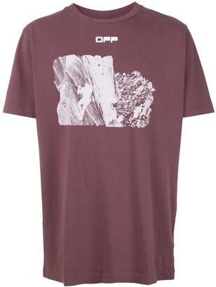 Off-White Climb print short-sleeve T-shirt