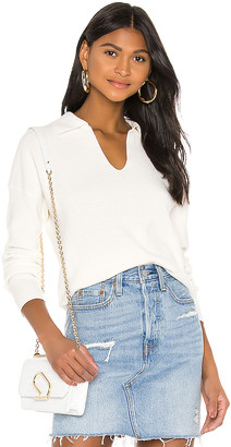 525 America Collared V Neck Sweater
