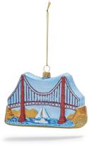 Sur La Table Golden Gate Bridge Glass Ornament