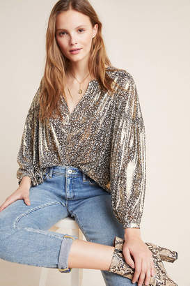 Current Air Diana Shine Blouse
