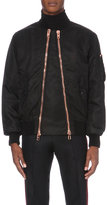 Givenchy Double-zip Shell Bomber Jacket