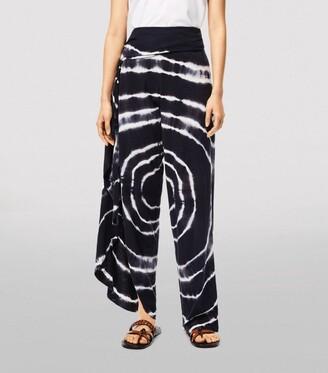 Loewe X Paula'S Ibiza Tie-Dye Wrap Trousers