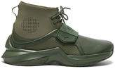 FENTY PUMA by Rihanna Leather Trainer Sneakers in Green.
