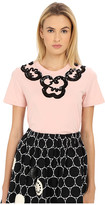 Marc by Marc Jacobs Embroidered Collar Tee