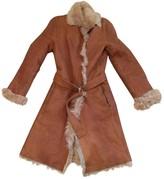 Joseph Camel Shearling Coats