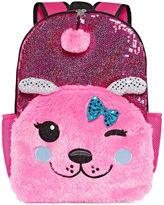 Asstd National Brand Pink Dog Backpack