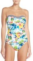 Tommy Bahama Bandeau One-Piece Swimsuit