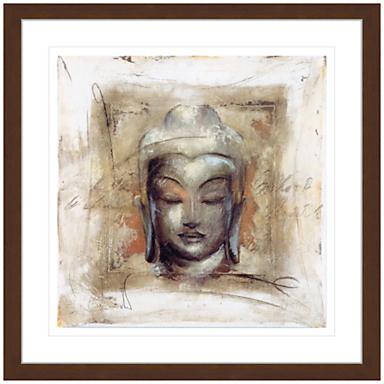 John Lewis Elvira Amrhein- Innerer Friede Buddha Framed Print, 88 x 88cm