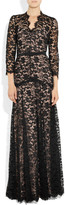 Temperley London Amoret lace gown