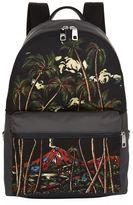 Dolce & Gabbana Jungle Print Backpack