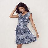 Lauren Conrad Women's Pleated Shift Dress