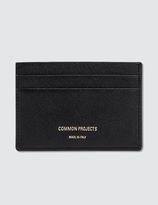 Common Projects Multi Cardholder Saffiano Leather