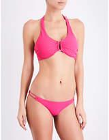 Heidi Klein Antigua U-bar halterneck bikini top
