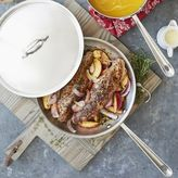 All-Clad Stainless-Steel Skillets with Lids