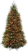Dunhill National Tree 9' Fir Hinged Tree with 900 Multi Lights - 108 in. - 120 in.