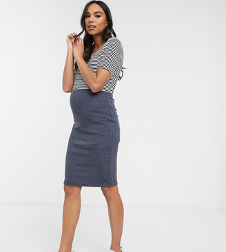 Mama Licious Mamalicious stretch pencil skirt
