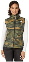 The North Face Tamburello 2 Vest (Burnt Olive Green Waxed Camo Print) Women's Vest