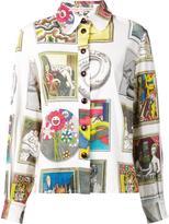 Olympia Le-Tan multiple prints loose-fit shirt - women - Cotton/Spandex/Elastane - 36