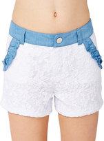Betsey Johnson Bj Girls Lacey Shorts