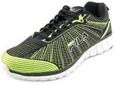 Fila Speedweave Run Ii Round Toe Canvas Running Shoe.