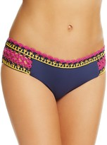 Becca by Rebecca Virtue Scenic Route American Crochet Trim Bikini Bottom