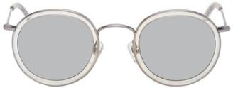 Han Kjobenhavn Silver Drum Clear Sunglasses
