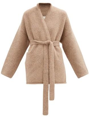 LAUREN MANOOGIAN Alpaca-blend Cardigan - Mid Brown