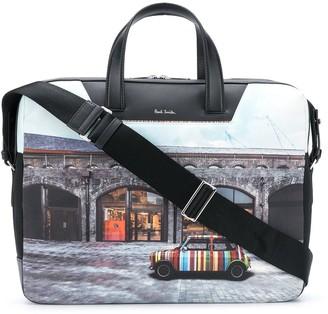 Paul Smith Photograph-Print Tote Bag
