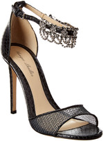 Monique Lhuillier Evelyn Leather Sandal