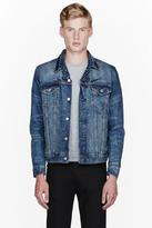 Levi's Faded blue denim Trucker jacket