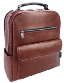 "McKlein Logan 17"" Dual-Compartment Laptop Tablet Backpack"