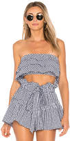 Blue Life Lola Top in Blue. - size L (also in M,XS)