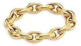 Milani Alberto Women's Via Senato 18K Gold Interlock Bracelet