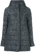 Herno sequin embellished padded jacket